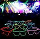 Окуляри світлодіодні прозорі El Neon Ray Pink (неонові), фото 4