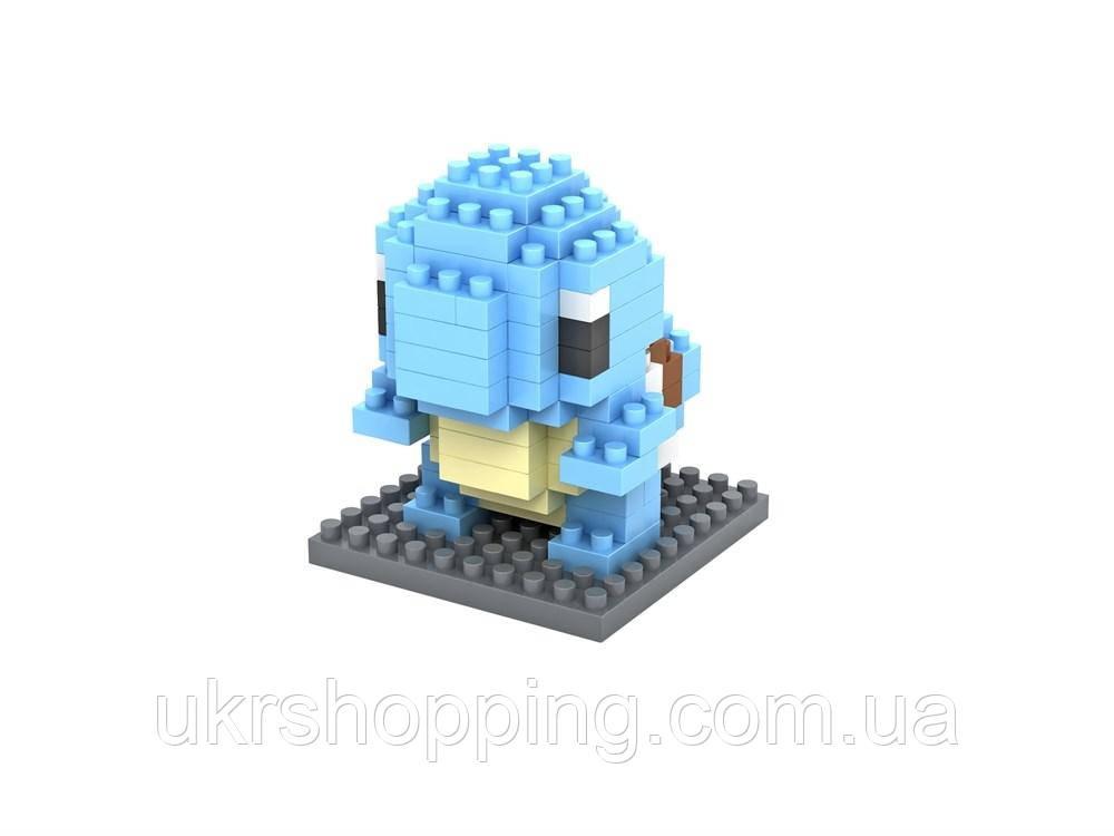 Лего pokemon, Сквиртл, Блочный конструктор, игрушка LNO, детский конструктор лего, фигурка покемон