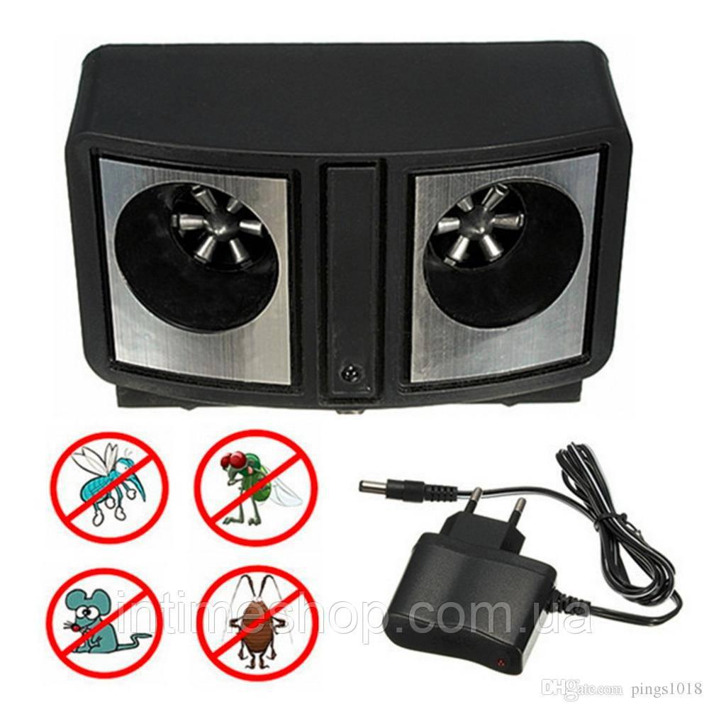 Ультразвуковой отпугиватель грызунов Dual Sonic Pest Repeller, ультразвук против мышей | відлякувач мишей (TI)