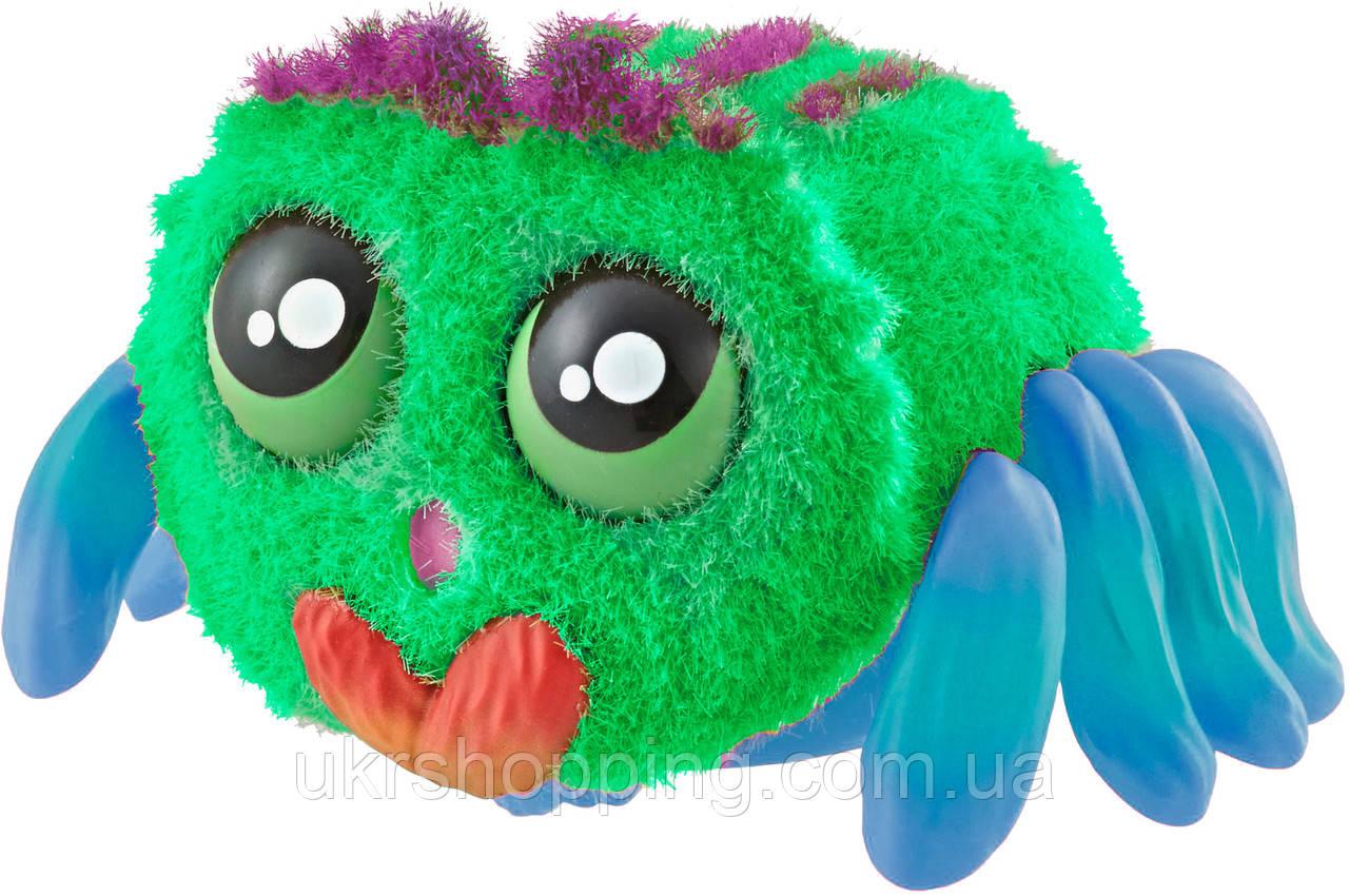 🔝 Павук іграшка інтерактивний (зелений+синій) інтерактивна іграшка для дітей павучок Yelies | інтерактивна