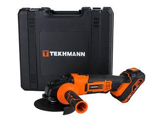 Болгарка 125 мм аккумуляторная Tekhmann TAG-125/i20 kit (шлифмашина, УШМ)