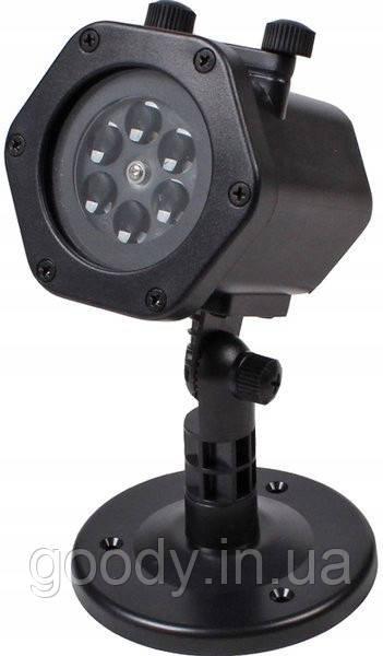 Різдвяний лазерний проектор 12 світових ефектів