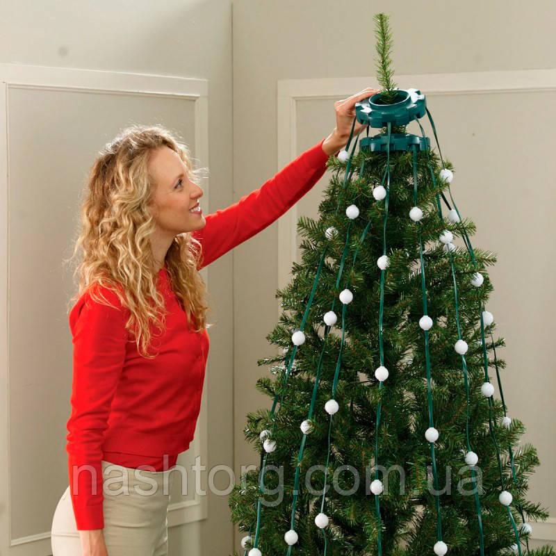 Электрическая LED гирлянда на Новый год Tree Dazzler (48 ламп) новогодние украшения, с доставкой