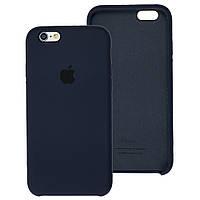 Чехол Silicone Case для IPhone 5/5S Midnight Blue (темно-синий)