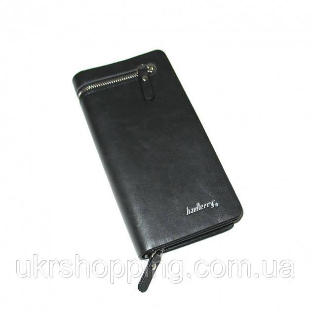 Портмоне S618-357 Черное Baellerry кошелек portmone клатч мужской- чоловічі портмоне кошельки