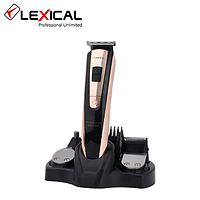 Триммер для волос 5в1 стрижка бритва Lexical LHC-5601 3W