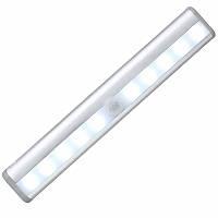 Светодиодный LED светильник с датчиком движения Motion Brite - Белый, освещение для мебели (TI)
