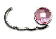 Крючок для сумки, держатель, Аметист, цвет - розовый, фото 1