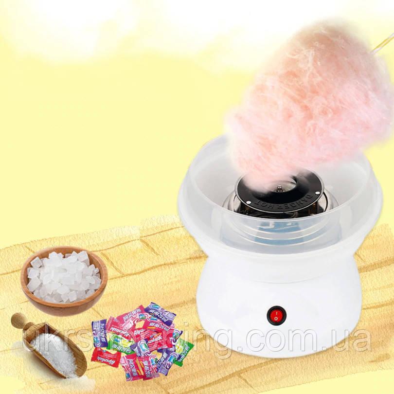 Аппарат для приготовления сладкой ваты в домашних условиях Cotton Candy - По Киеву Украине