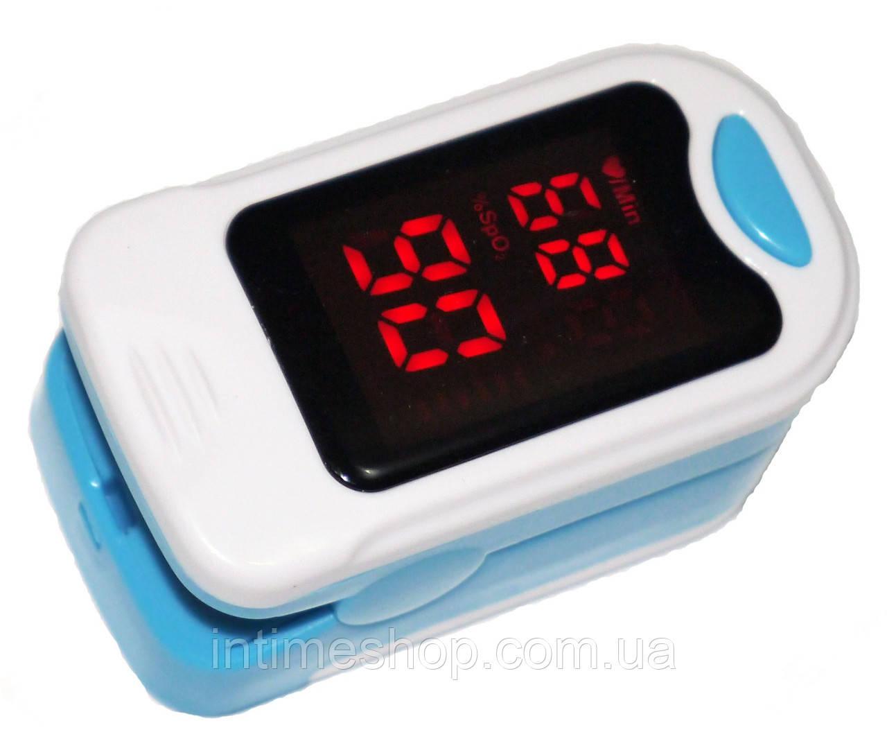 Пульсометр, точный пульсоксиметр, оксиметр, портативный / компактный пульсометр на палец с доставкой