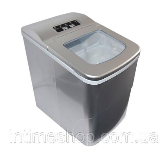 Домашний льдогенератор для дома - портативный генератор льда (машина для льда) - Серый