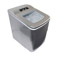 Домашний льдогенератор для дома - портативный генератор льда (машина для льда) - Серый, фото 1