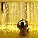 Світлодіодна гірлянда LTL Штора Curtain 5 * 3 метрів 600 led 220v (тепле світіння), фото 2