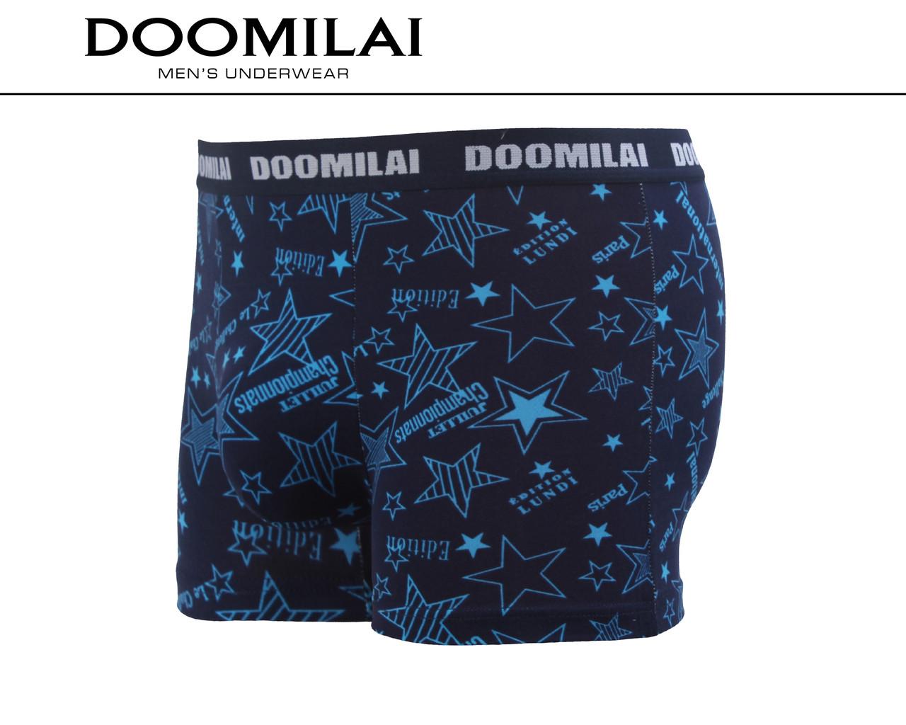 Чоловічі боксери стрейчеві з бамбука «DOOMILAI» Арт.D-01272