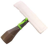 Щетка для мытья окон, скребок, Easy Glass 3 in 1, с распылителем, (доставка по Украине), фото 1