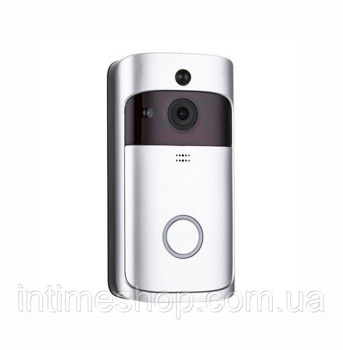 Видеодомофон беспроводной дверной Smart WiFi Doorbell M6 камера с датчиком движения видеоглазок