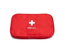 Домашняя аптечка-органайзер для хранения лекарств и таблеток First Aid Pouch Large Красный (GK)
