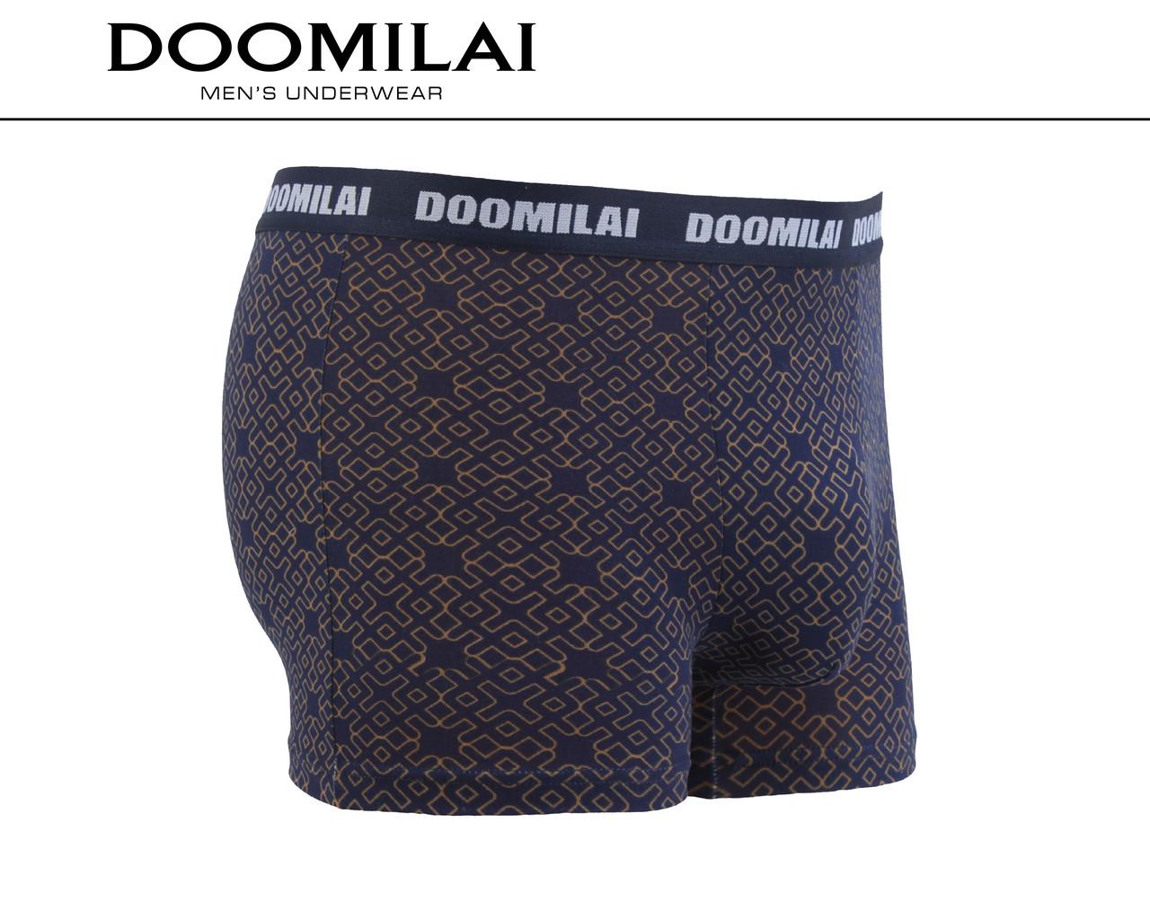 Чоловічі боксери стрейчеві з бамбука «DOOMILAI» Арт.D-01275