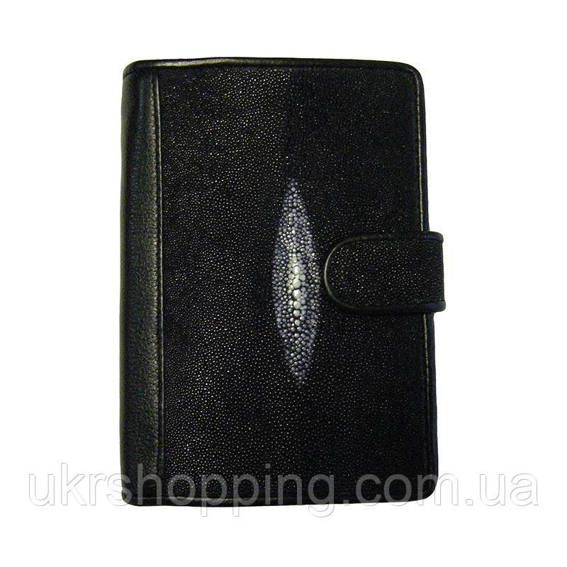 Кожаный кошелек, Classic Ckat, портмоне из ската, (доставка по всей Украине)