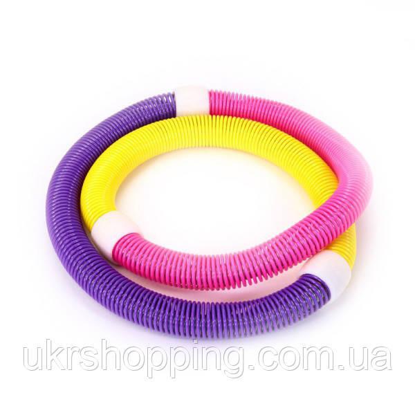 Гимнастический обруч для талии Hula Hoop, хулахуп для похудения, с доставкой по Киеву и Украине