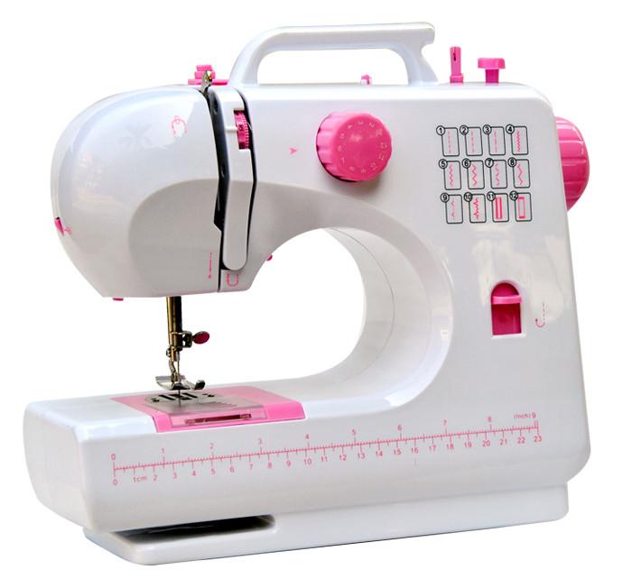 Міні швейна машинка FHSM-506 Tivax Рожева, портативна швейна машинка | маленькая швейная машинка