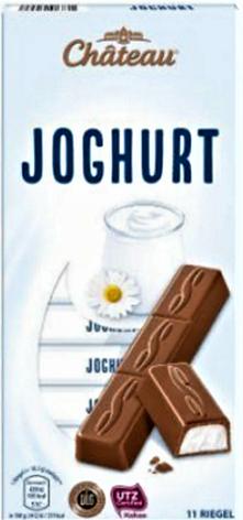 Шоколад Château молочный йогурт 200 г, фото 2