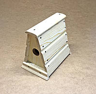 """Деревянная кормушка, оригинальная кормушка для птиц, """"Снегирь"""", домик для птиц, фото 1"""