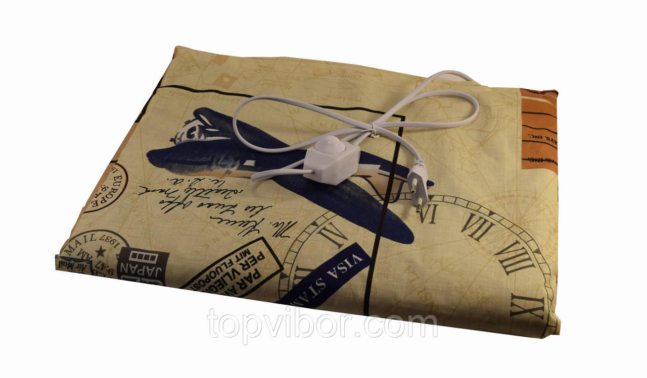 Грілка електрична чудесник Карта з регулятором температури 40х50 см, електрогрілка   электрогрелка