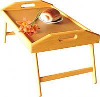 Столик поднос, Флорида, цвет - кари, деревянный, столик в кровать, завтрак в постель