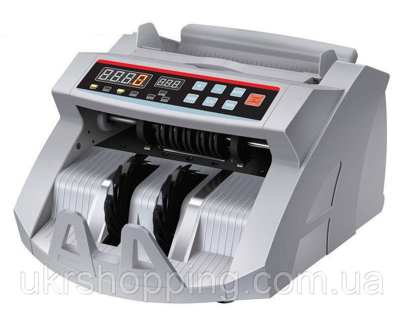 Машинка для счета денег с УФ и магнитным детектором + выносной экран, UKC 2089, счетная машинка для денег