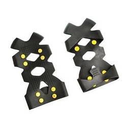 Антиковзні накладки на взуття Non-Slip на 8 шипів - розмір M (35-38), льодоступи для взуття   ледоступы