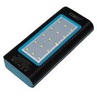 Портативное зарядное устройство для смартфона, UKC 32000mAh, зарядка Power Bank, цвет - чёрно-синий, фото 1