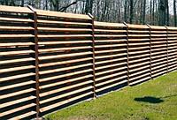 """Импрегнированный горизонтальный забор """"Жалюзи-2"""""""