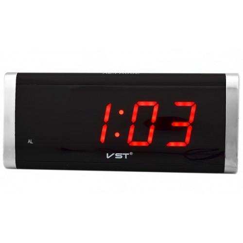 Настільний Led годинник VST 730 з червоним підсвічуванням, настільний електронний годинник   настольные часы