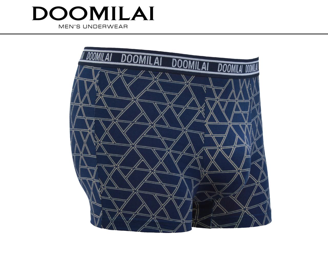Мужские боксеры стрейчевые из бамбука «DOOMILAI» Арт.D-01349