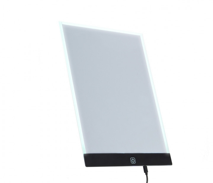 Световой планшет, Manturinni A4 с LED-подсветкой, планшет для рисования детский (GK)