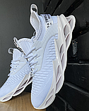 Кросівки чоловічі білі текстиль, фото 2