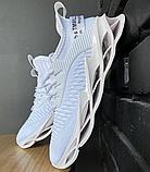 Кросівки чоловічі білі текстиль, фото 4