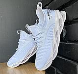Кросівки чоловічі білі текстиль, фото 5