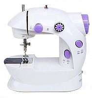 Портативна побутова міні швейна машинка для початківців SM-202 маленька, для дому, електрична
