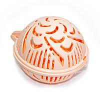 Контейнер для стирки бюстгальтеров Flexy Bra Washer, цвет - персиковый, с доставкой по Киеву и Украине, фото 1