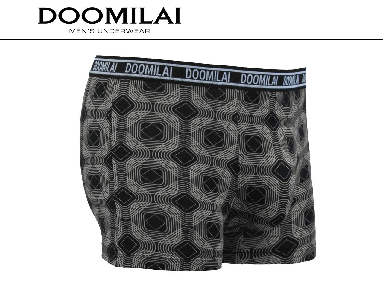 Чоловічі боксери стрейчеві з бамбука «DOOMILAI» Арт.D-01350