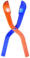 Распродажа! Щипцы для лепки снежков, игрушка снежколеп, цвет - красно-синий - (сніжколіп), фото 1