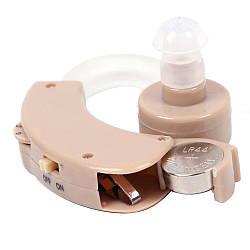 Заушной слуховой аппарат Cyber Sonic, усилитель слуха для пожилых | підсилювач слуху (GK)