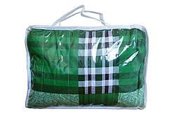 Электропростынь с подогревом полуторная, цвет - зеленый, 150x80 см.Трио 02101 (GK)