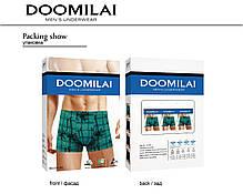 Чоловічі боксери стрейчеві з бамбука «DOOMILAI» Арт.D-01342, фото 3