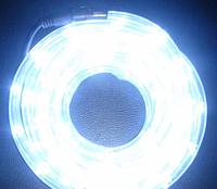 """Шланг """"Дюралайт"""" светодиодный белый 10 метров"""