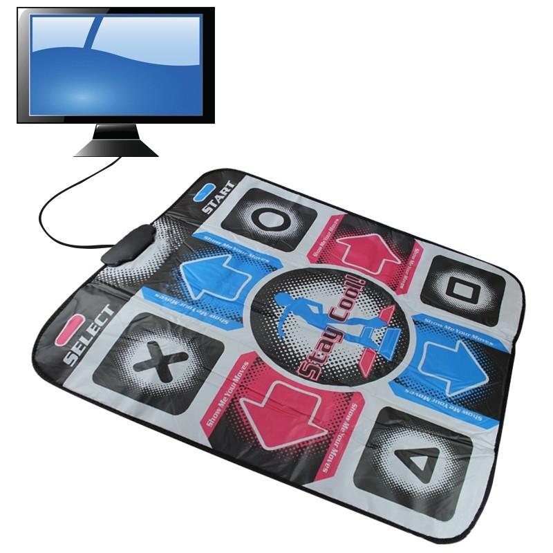 Танцевальный коврик Dance Pad (TV) музыкальный коврик для танцев к телевизору с доставкой по Украине (GK)