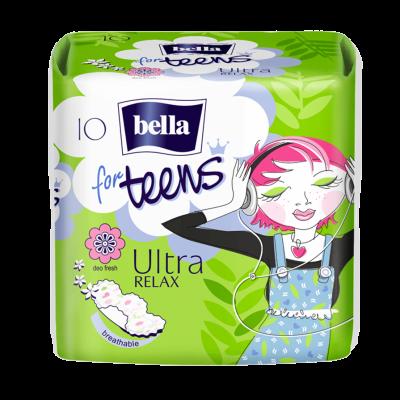 Гигиенические прокладки Bella for Teens: Ultra Relax 10 шт (5900516302375)