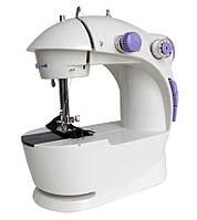 Міні швейна машинка з підсвічуванням 4 в 1 SM - 201, Sewing Machine з доставкою по Україні і Києву